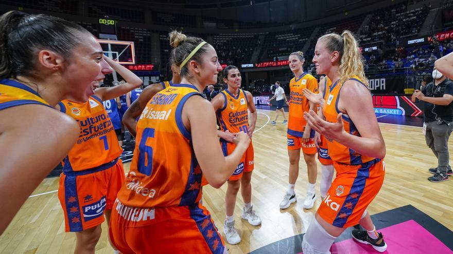 Horario y dónde ver el Valencia Basket - Familia Schio