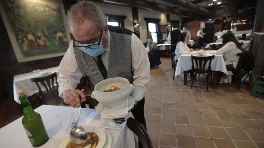 El menú de la Ascensión estará presente en 29 restaurantes de Oviedo desde mañana