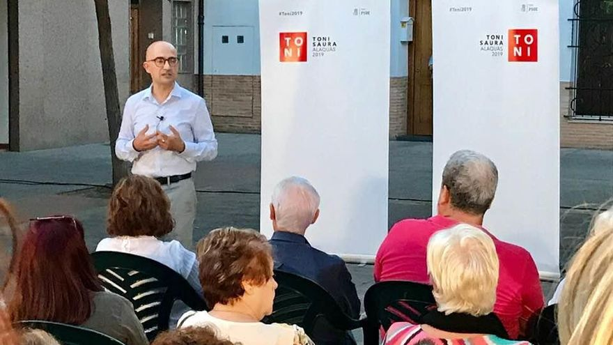 El edil Toni Saura se presentará a la alcaldía de Alaquàs por el PSPV