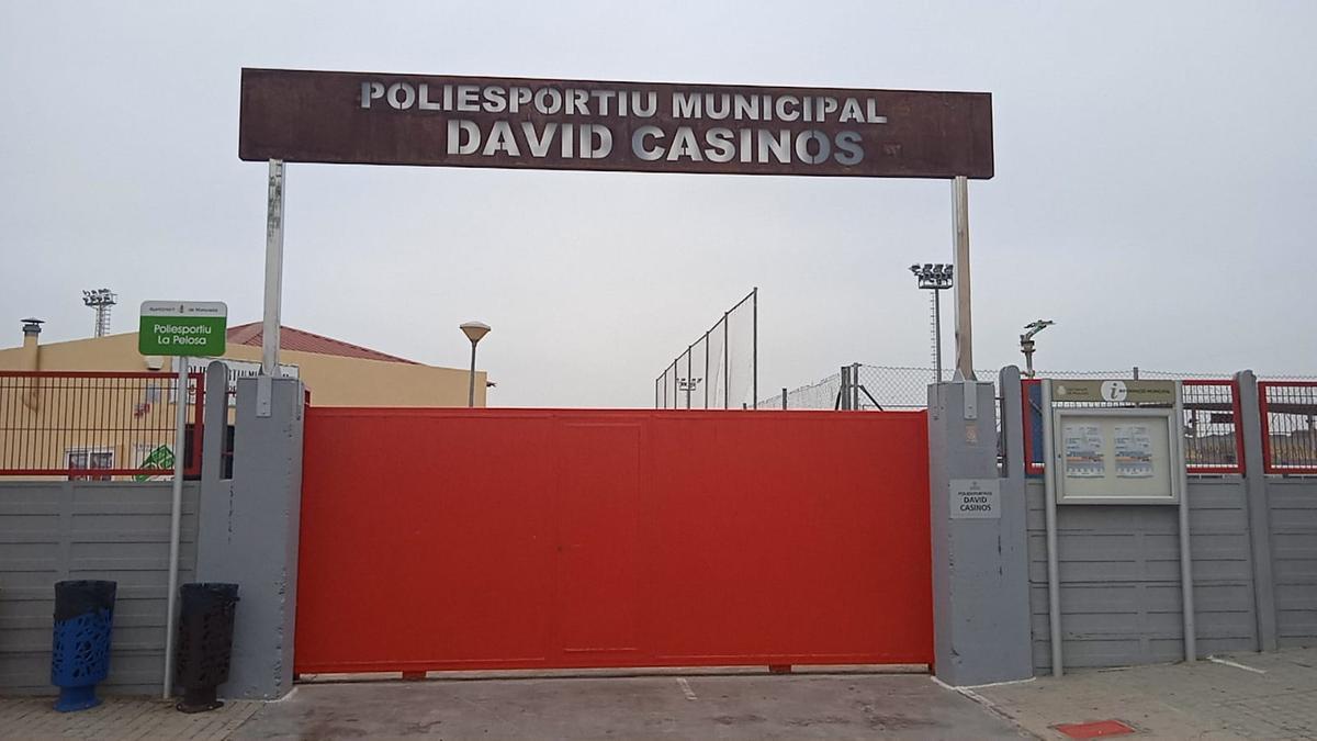 Nuevo polideportivo David Casinos en Moncada.