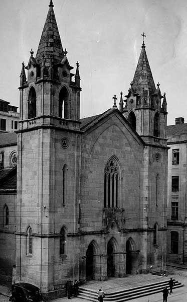 Iglesia Santiago de Vigo 1920 -1936