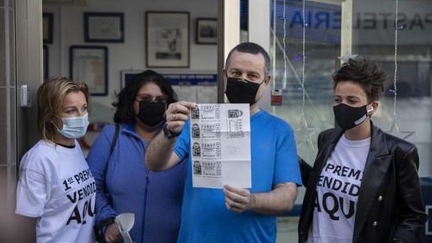 Lotería de Navidad: Una administración de Punta Umbría también trae el Gordo a Córdoba