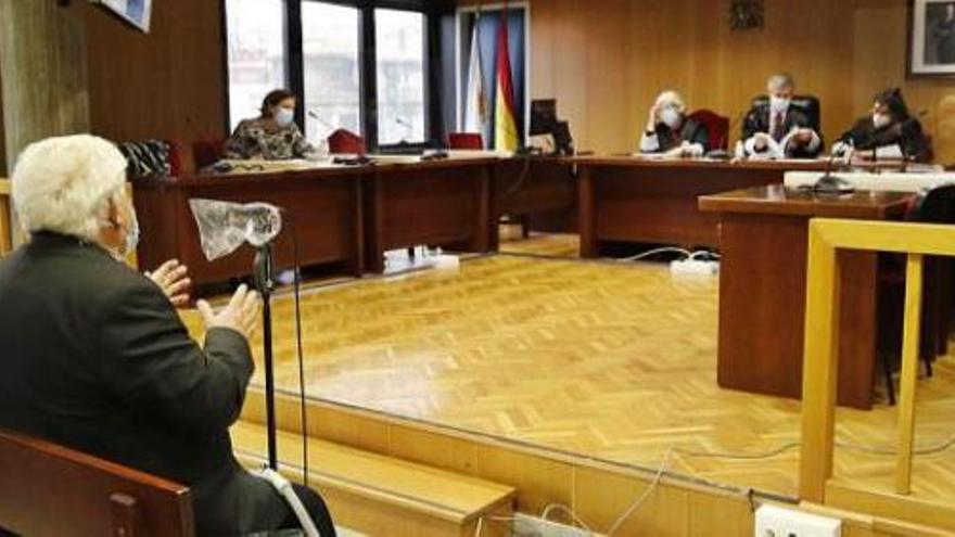 El acusado de abusar de dos niñas en Vigo alega que fue una venganza