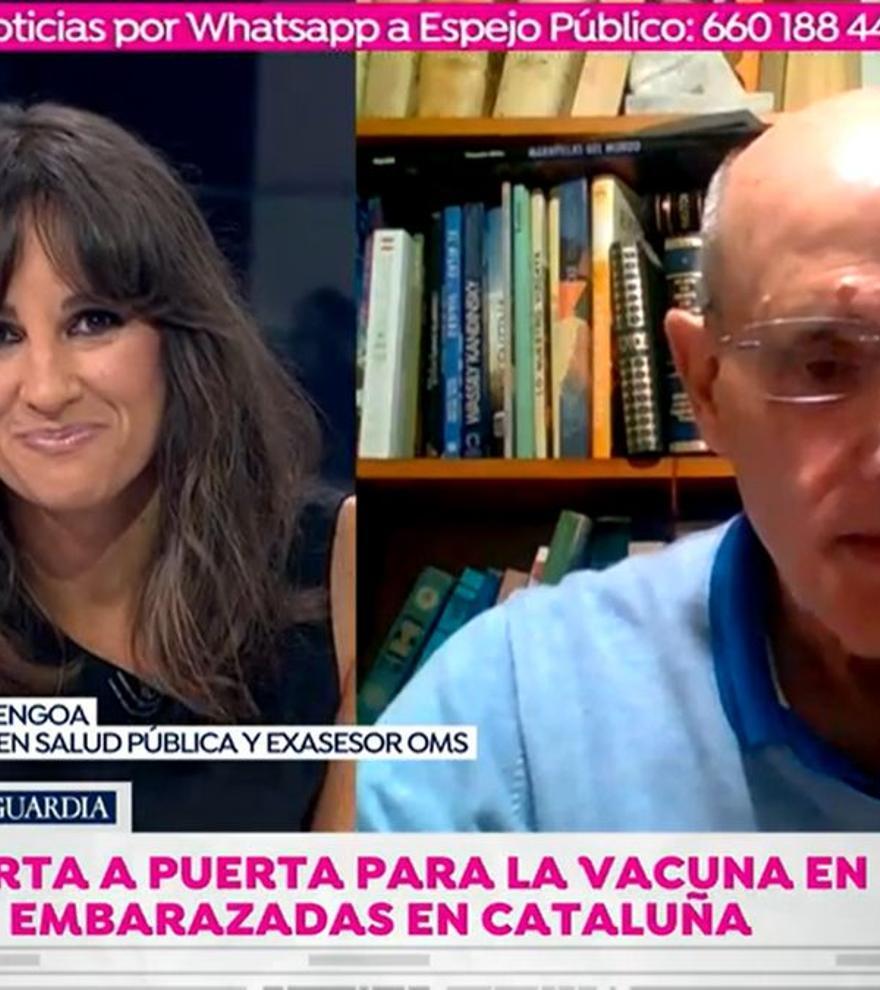 """Lorena García anuncia emocionada ante un médico que está embarazada: """"Lo hemos pasado regular"""""""