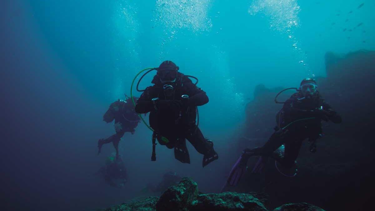 Un tesoro escondido en el fondo del mar