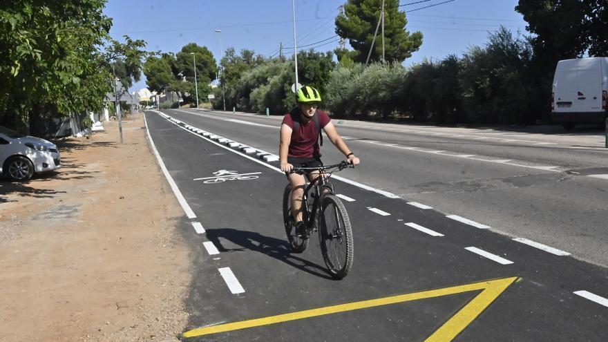 El vial ciclopeatonal de Castelló a l'Alcora estará completado en 2022