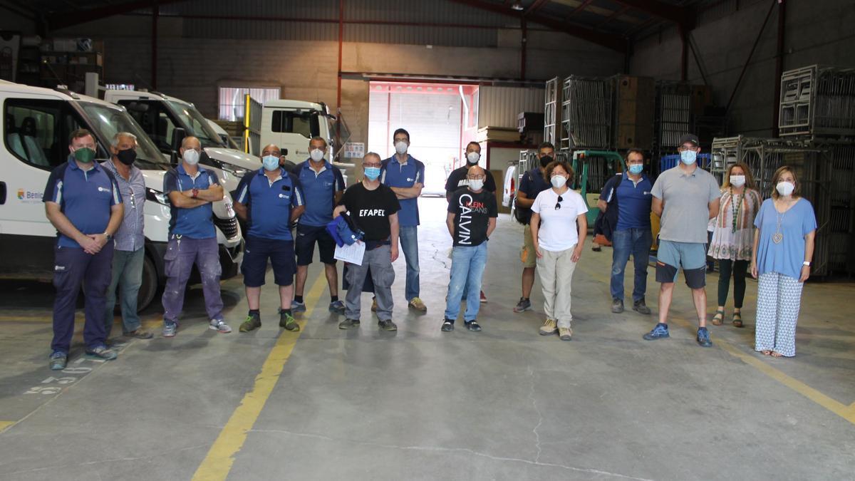 Benicàssim amplía la brigada municipal con 12 nuevos operarios