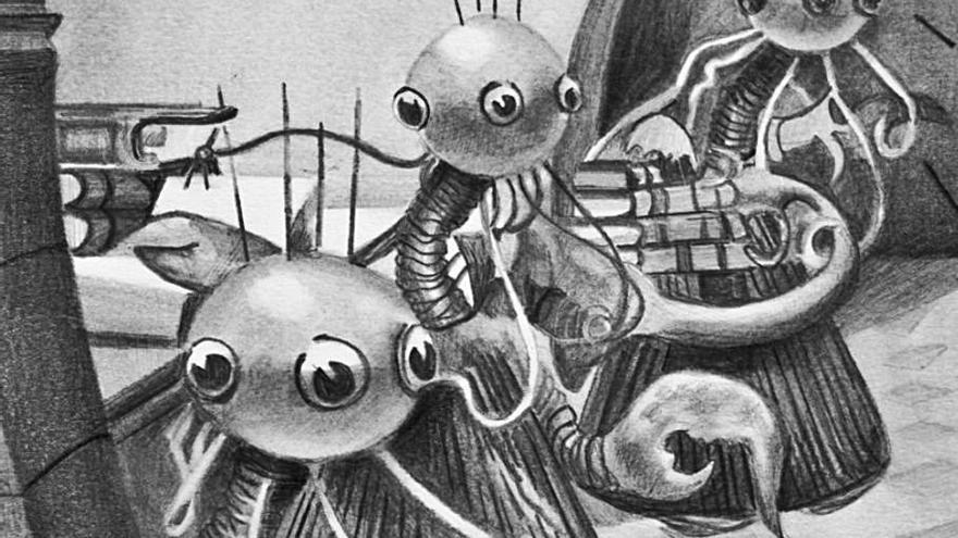 El Centre del Carme tanca l'any amb un duel d'il·lustradors