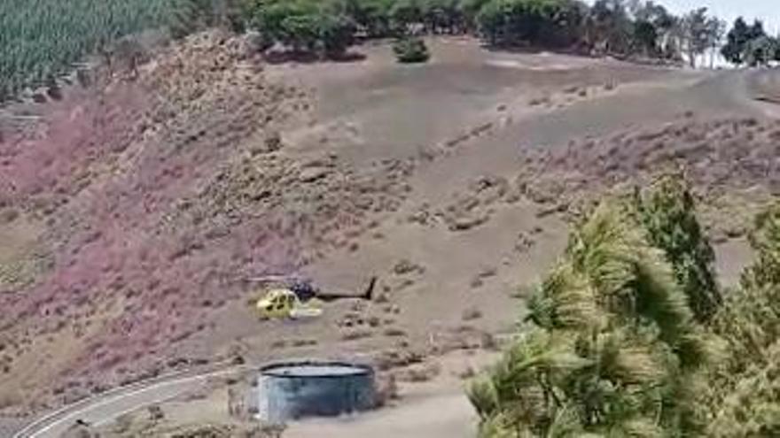 Controlado el incendio de la Cumbre que afectó a 1,5 hectáreas de pasto y monte bajo