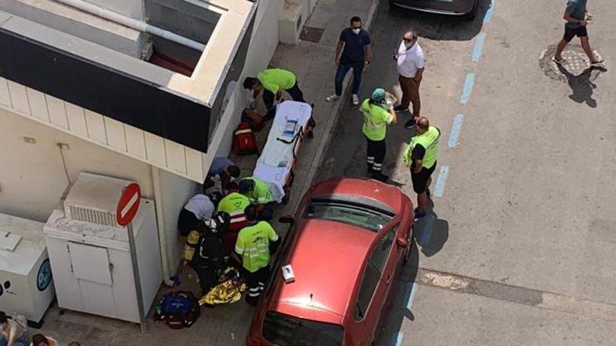 Una explosión en una gasolinera del centro de Cartagena deja varias personas heridas