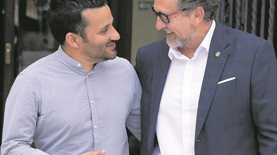 Martí y Marzà estrechan relaciones entre la Diputación y la Generalitat