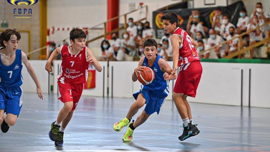 Los alevines de baloncesto Asturias, a por la permanencia entre los mejores