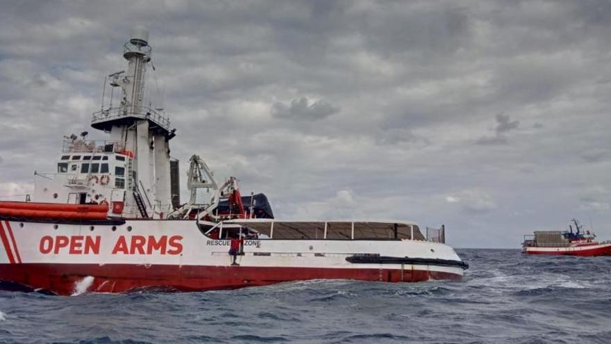 Salvamento Marítimo autoriza al Open Arms a que se dirija a aguas españolas