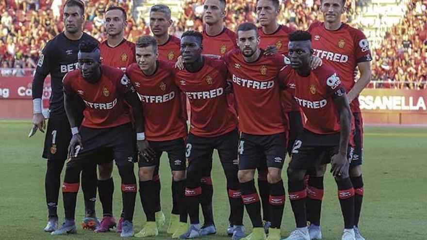 El Mallorca de Vicente Moreno, un equipo con trece jugadores