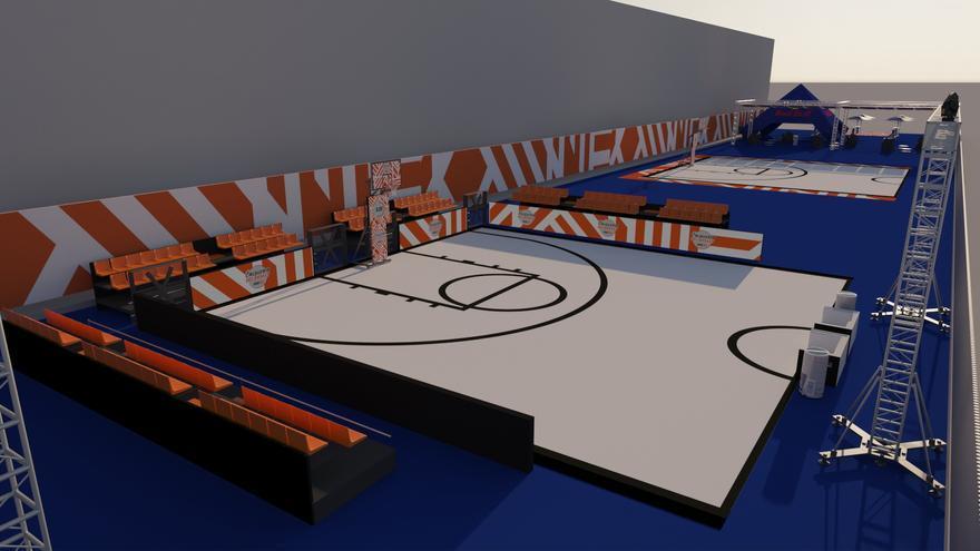 Récord de participación y público en el I L'Alqueria del Basket Open 3x3