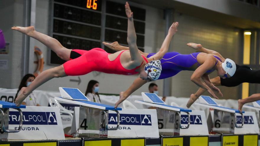 Triplete mallorquín en 200 estilos para cerrar el Nacional de natación