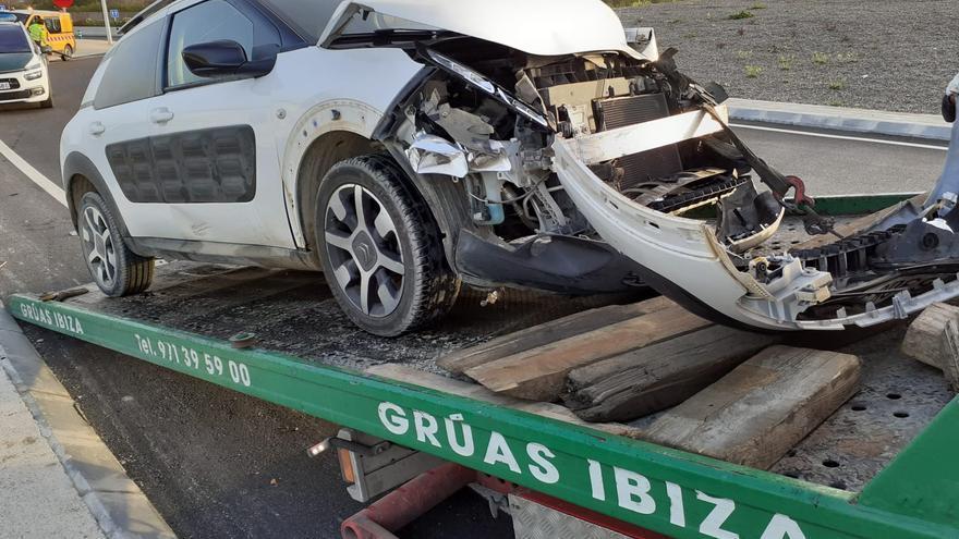 Accidente de tráfico en Ibiza
