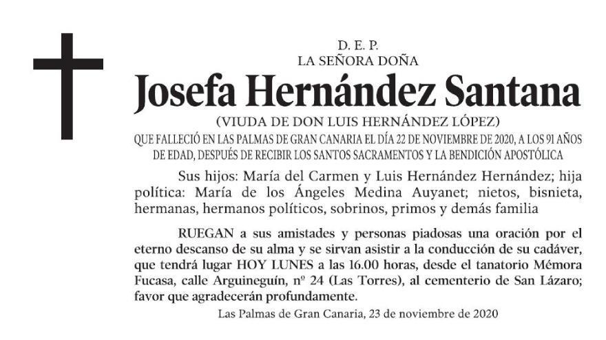 Josefa Hernández Santana