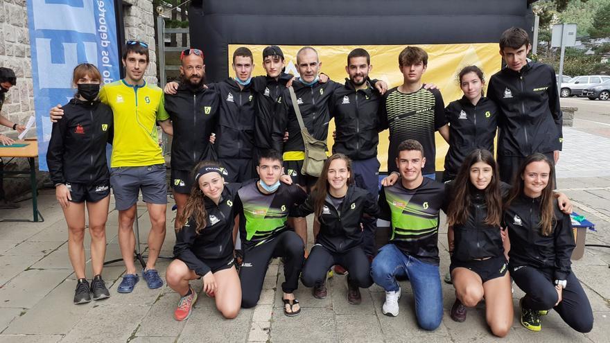 Seis medallas para Aragón en la Copa de España de kilómetro vertical