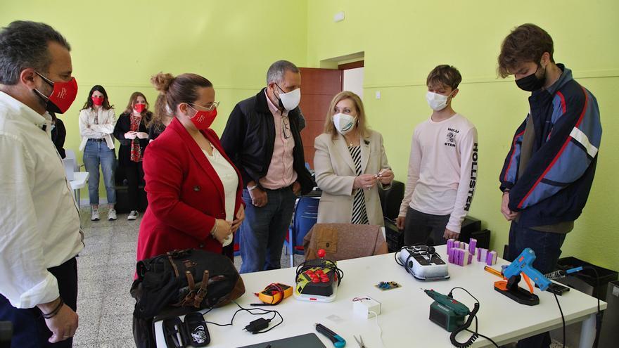 La Diputación de Badajoz y Aoex colaboran en 'Conseguir sonrisas'