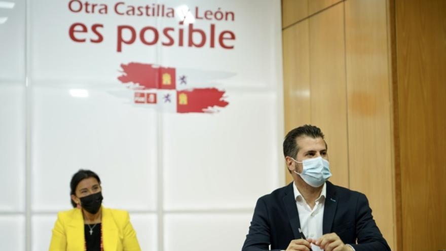 """Tudanca anuncia su candidatura al congreso autonómico: """"Mi compromiso está aquí, en Castilla y León"""""""