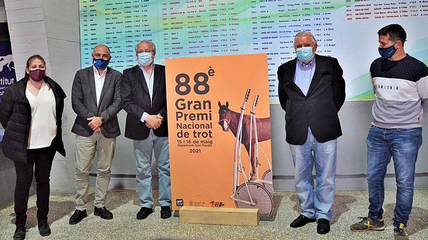Presentación del cartel del 'Gran Premi' en Son Pardo