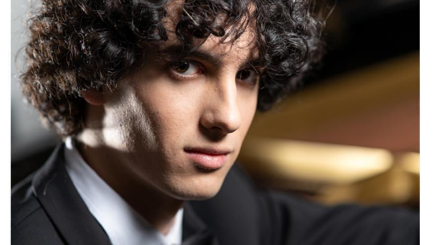 Concert amb Giacomo Menegardi (piano)