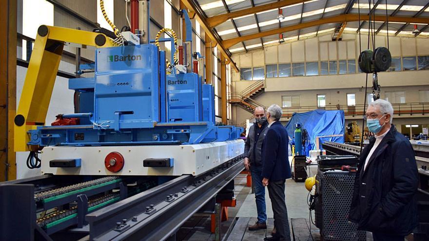 India y Groenlandia quieren las máquinas fabricadas por Barton en Valga