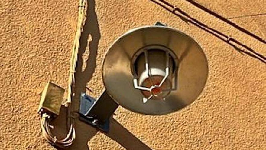 Camallera aposta pels punts de llum led a la via pública