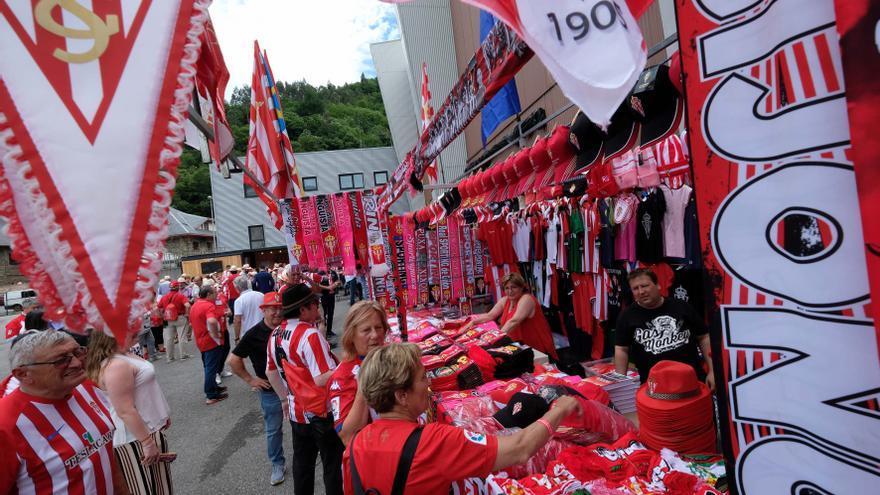 """La afición más """"pasional"""" del Sporting"""