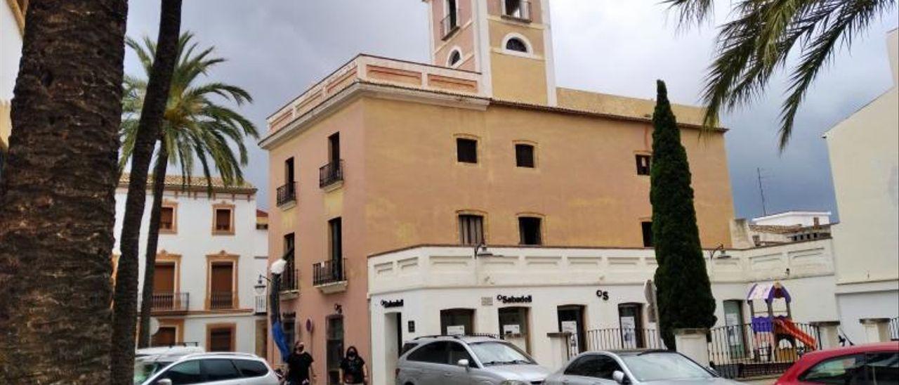 Empiezan las obras para convertir en hotel un palacete de 1850 de Xàbia