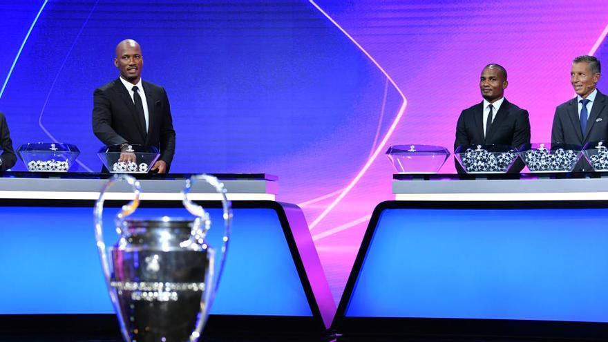 Madrid con el Inter, Barça con la Juve, Atlético con el Bayern y Sevilla con el Chelsea