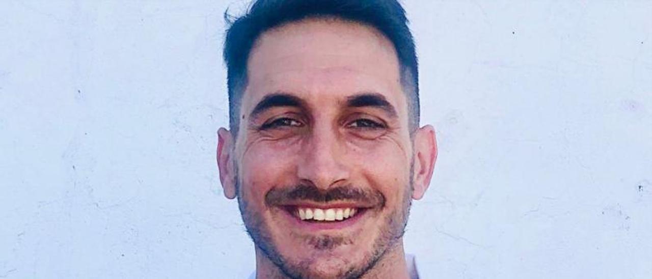 El delantero Pablo Pallarés | OLÍMPIC DE XÀTIVA