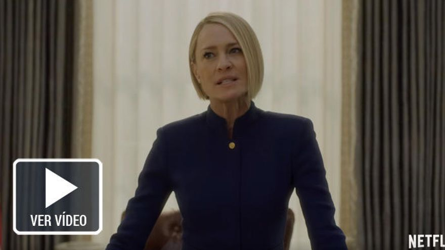 'House of Cards' se despide con Robin Wright al mando y sin Kevin Spacey