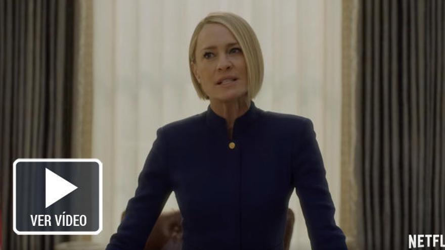 'House of Cards' se despide con Robin Wright al mando y sin Kevin Spacey