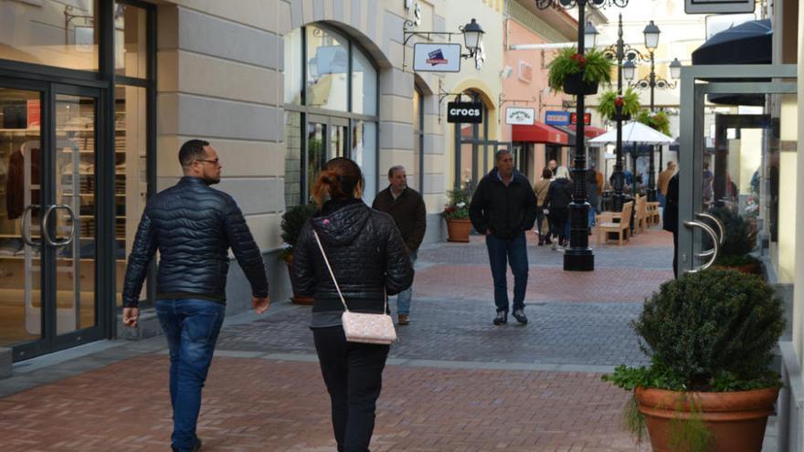 Apertura del outlet de lujo de Plaza Mayor