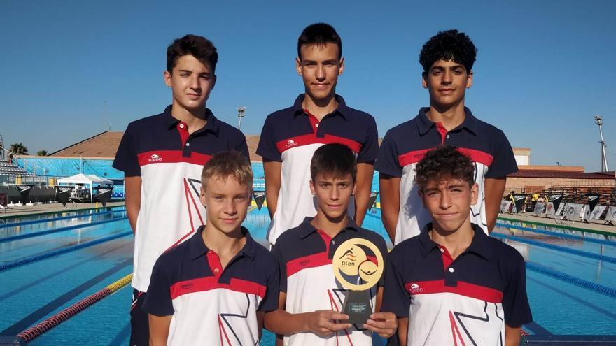 El Navial se proclama campeón de España por clubs de natación