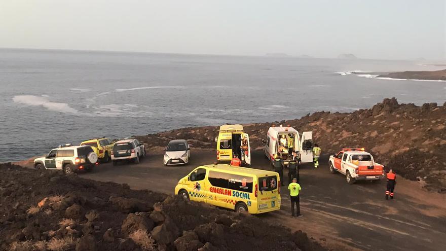 Muere un hombre ahogado tras ser arrastrado por la corriente en Lanzarote