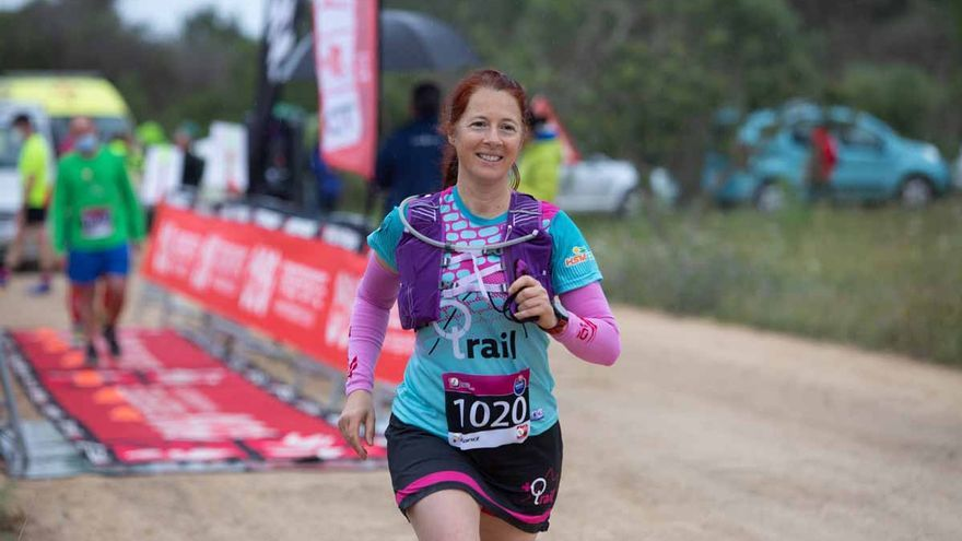 Abraham Bringué y Lydia Yern se imponen en la vertical de 5 km de la CRI Trail Running de Ibiza