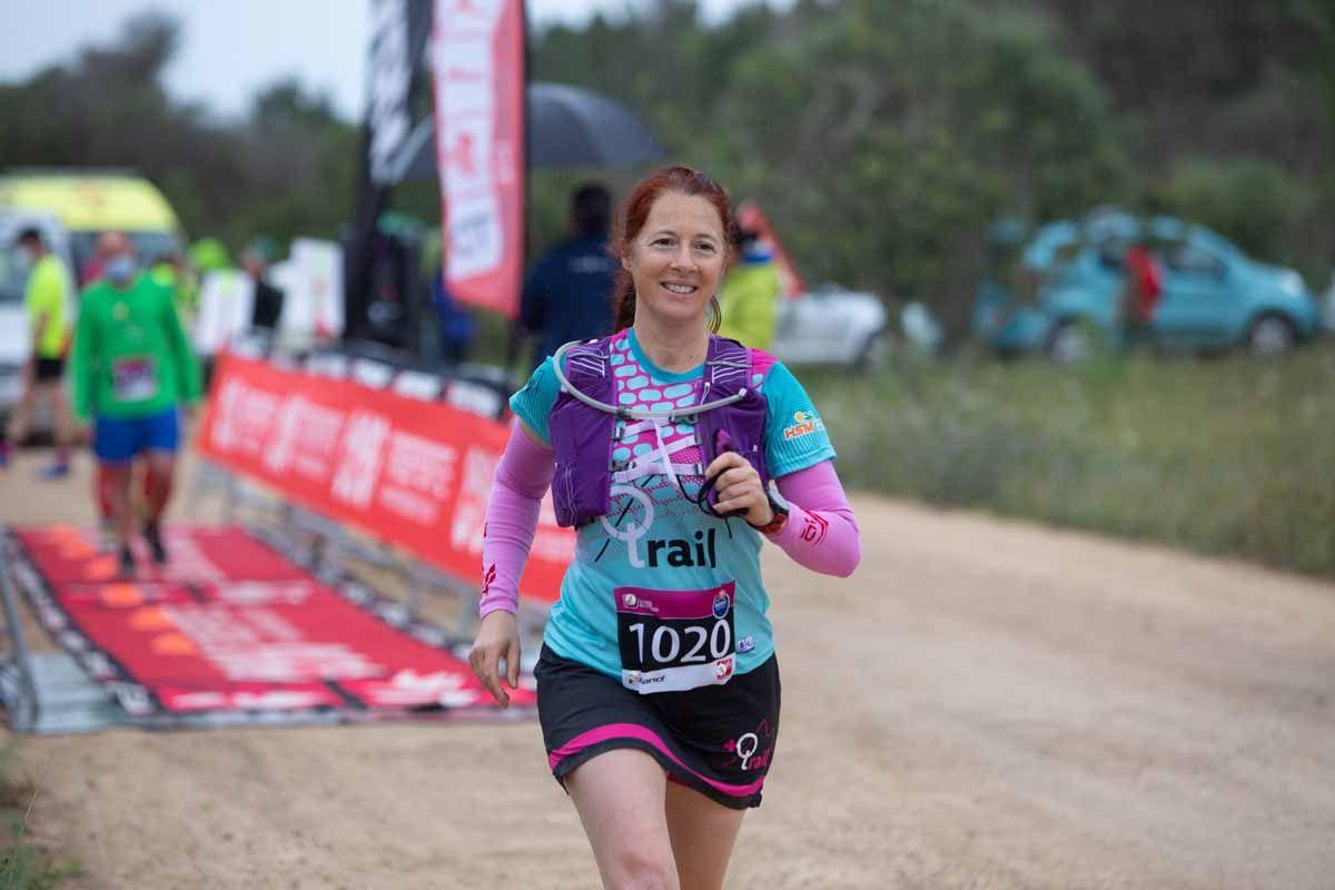 Prueba  CRI Trail Running, que se ha desarrollado en las inmediaciones de la ciudad de Ibiza