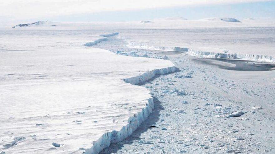 Una glacera gegant de l'Antàrtida es fon. Què passarà?