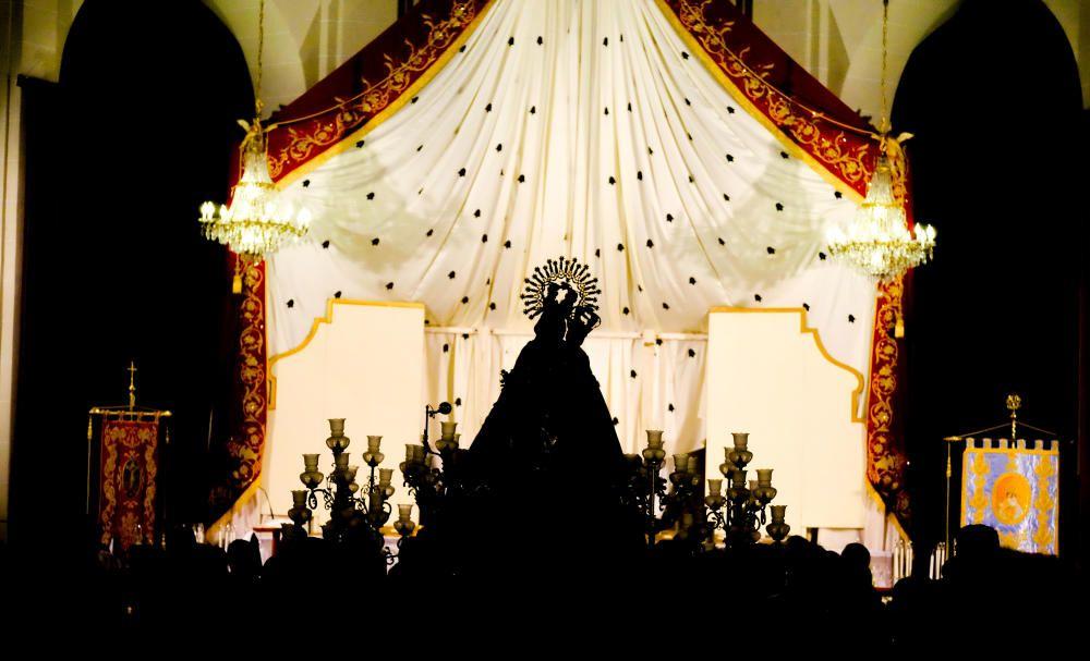 Procesión de la Virgen de la Salud en Elda