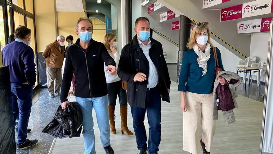 Sanidad da el visto bueno al pabellón de El Campello para vacunar en abril de forma masiva a campelleros y vecinos de Aigües
