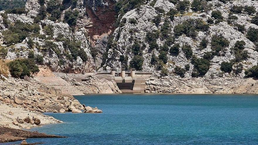 Wasserreserven  im Vergleich zum Vorjahr um 18 Prozent gesunken