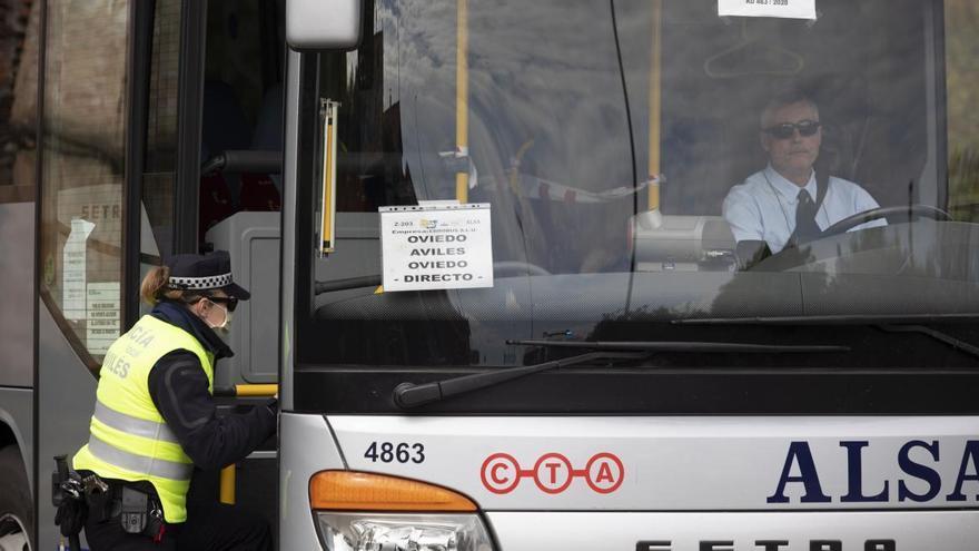La Policía Local de Avilés inicia mañana una campaña de vigilancia y control de camiones y autobuses