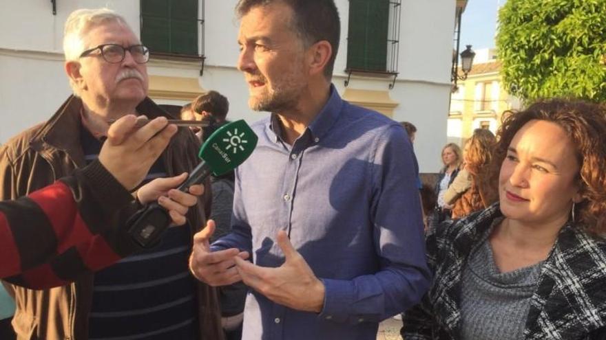 """Maíllo subraya en La Rambla que """"la movilización"""" en estos días es """"clave"""" para Unidas Podemos"""