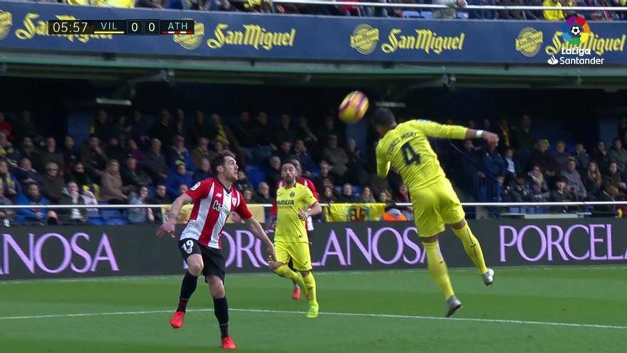 El Villarreal rescata un punto en la 'final' ante el Athletic