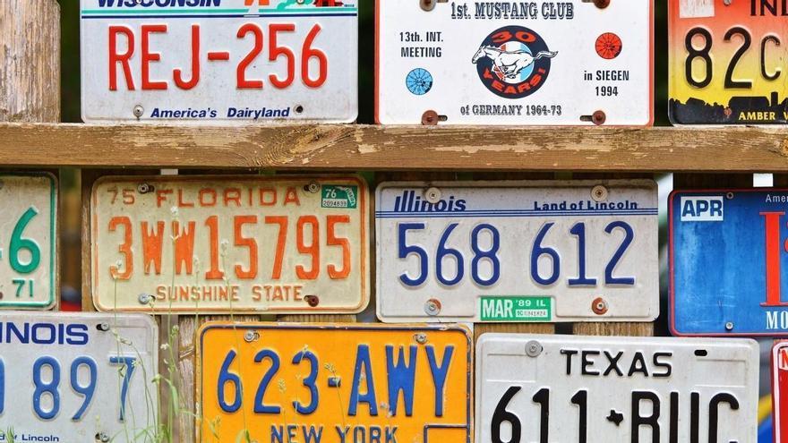 Estas son las placas de matrícula más caras del mundo