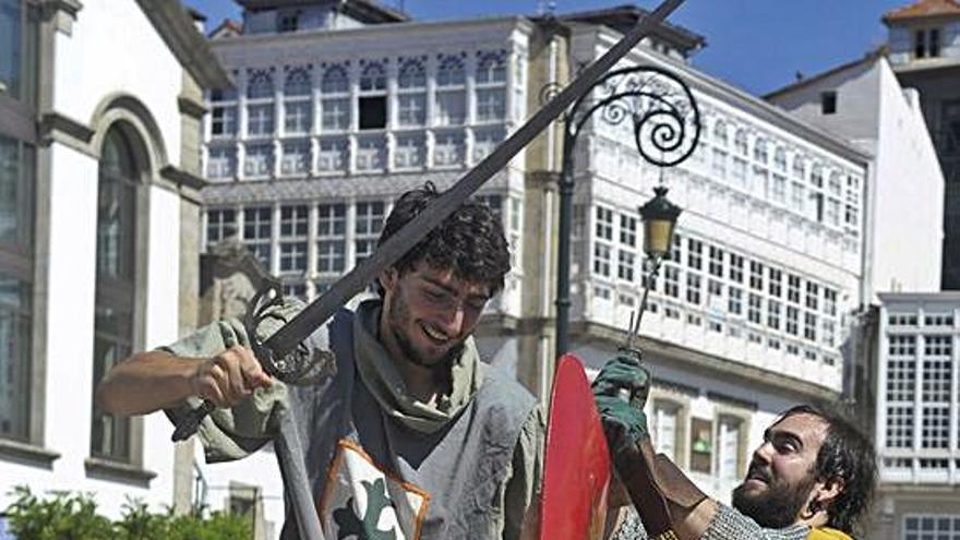 Betanzos anuncia una feria medieval con espectáculos de aforo reducido y sin puestos