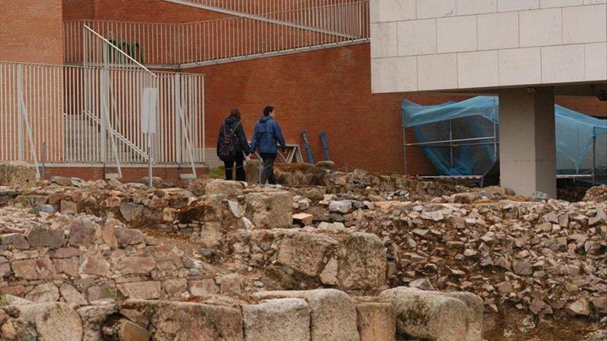 El recinto arqueológico de Morería incorporará mejoras para las visitas